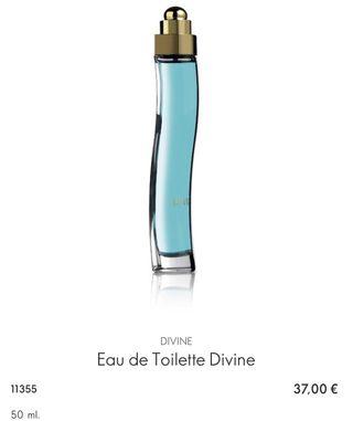 Eau de Toilette Divine ORIFLAME