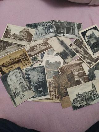 postales, sellos y carteles de peliculas antiguos