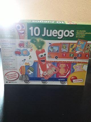10 Juegos.