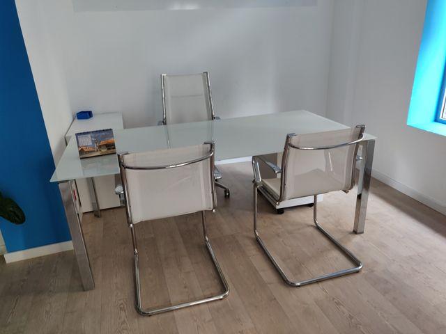 Mesa de oficina diseño de segunda mano por 250 € en ...