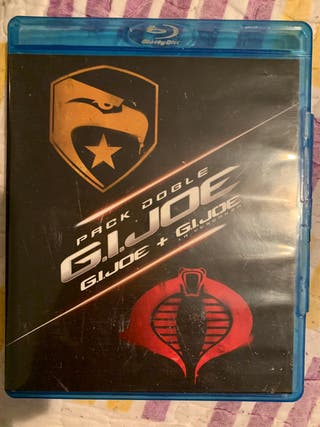 Pack doble g.i.joe + g.i.joe la venganza Blu-ray