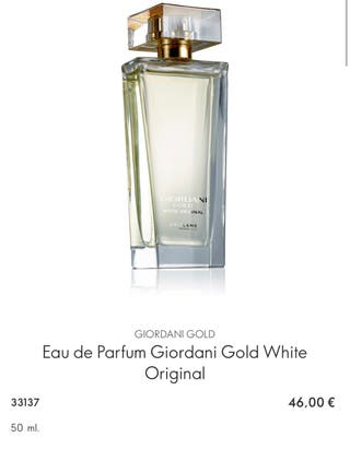 Eau de Parfum Giordani Gold White Original ORIFLAM