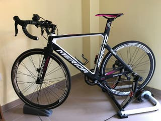 Bicicleta Carretera MeridaLampreReacto4000 Carbono