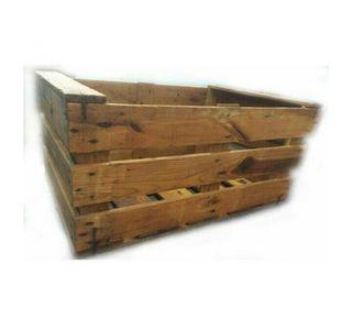 Cajas de madera.