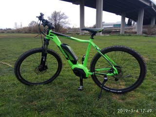 bicicleta eléctrica (((cambio )))