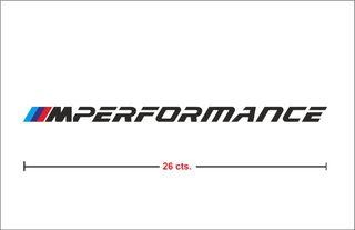 Vinilo M Performance Bmw