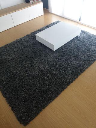alfombra Gaser ikea gris