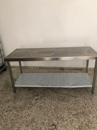 Mesas acero inoxidables