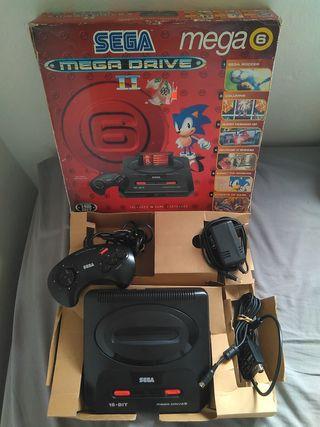 Consola Sega Megadrive 2