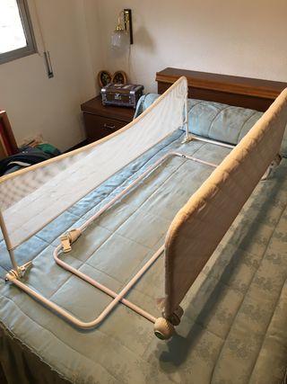 2 Barreras cama bebé