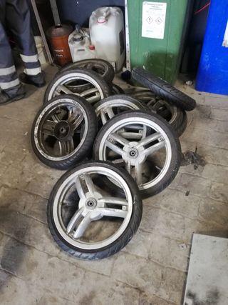 neumáticos todo tipo de motos