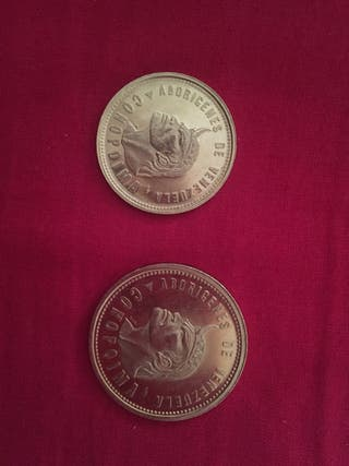 Monedas de oro de Venezuela.