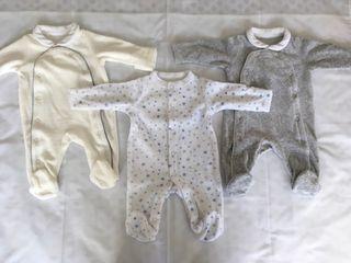 Pijamas tercio pelo bebé