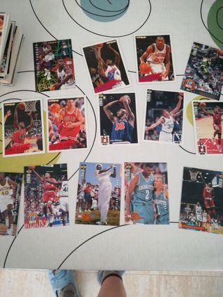 cromos NBA año 94