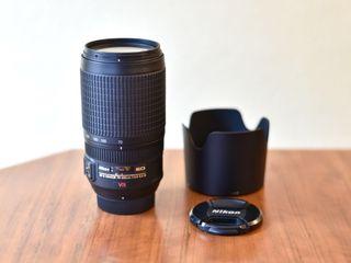 Se vende objetivo Nikon AF-S 70-300 mm VR