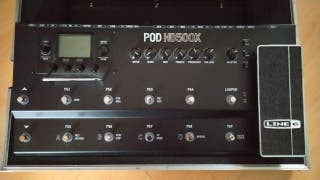 POD HD500X de LINE 6 CON CASE