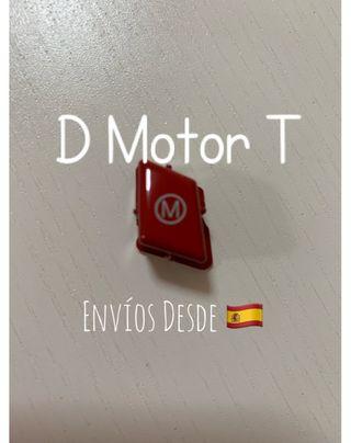 Botón rojo Volante M1 BMW