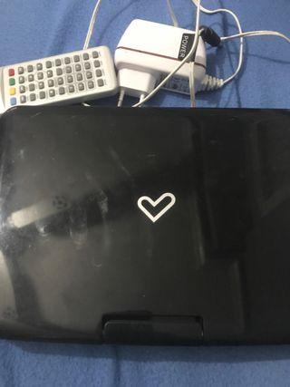 Reproductor DVD portátil energy sistem