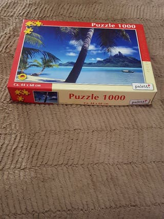 Puzzle 1000 piezas Paletti