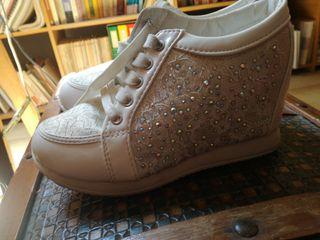 Zapatillas con pltaforma