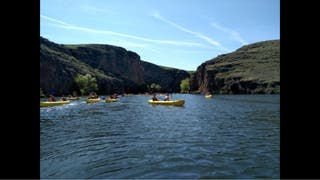 Canoas por parque natural *gratis*