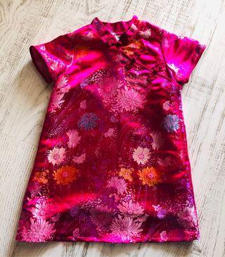 Vestido/Disfraz china