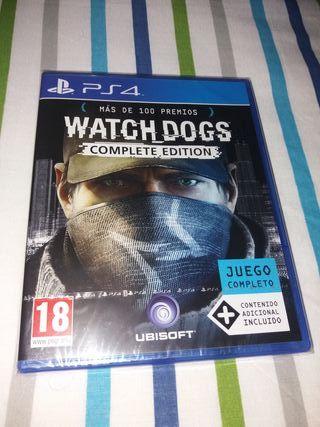Juego de PS4 Precintado