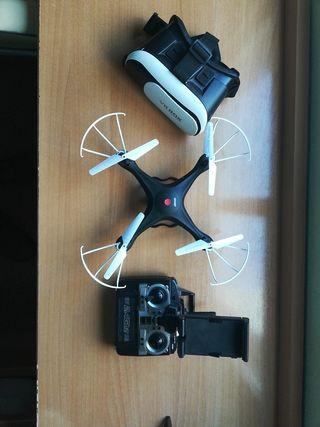 Dron con cámara.