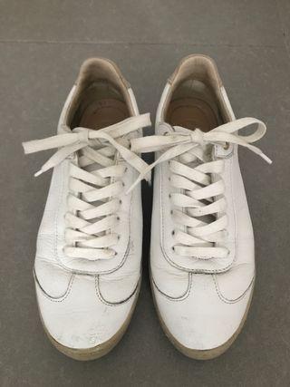 Zapatillas blancas Massimo Dutti