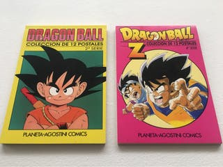 Colección postales Dragon ball años 90