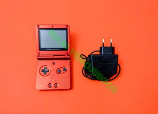 Game Boy Advance SP + Funda + Cargador