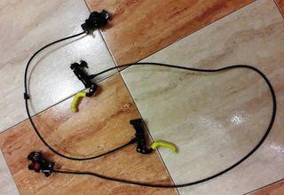 Frenos y manetas MTB