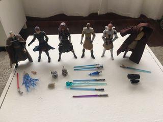 Lote 6 figuras Star Wars