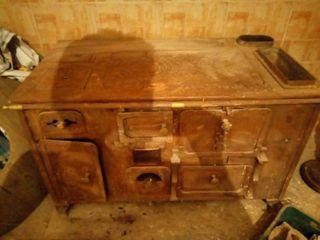 cocina de leña antigua más de 150 años