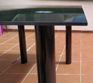 Mesa de comedor en cristal templado