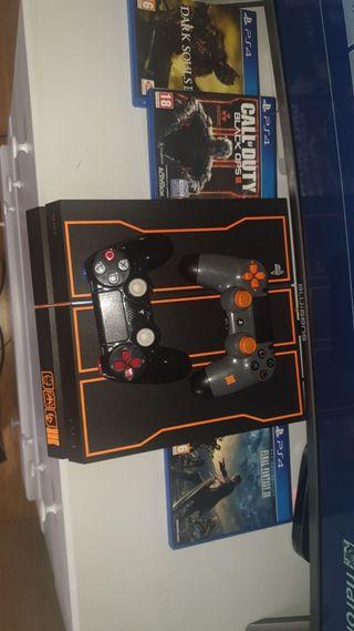 PS4 call of duty edición limitada