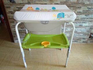bañera cambiador flip jane