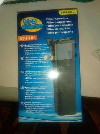 filtro depuradora para acuario