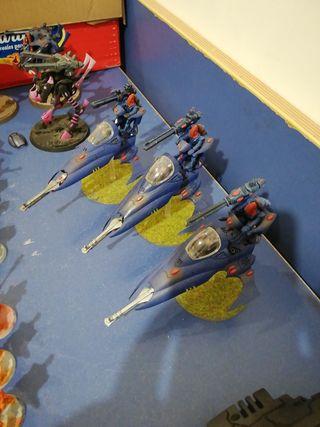 Warhammer vypers eldar