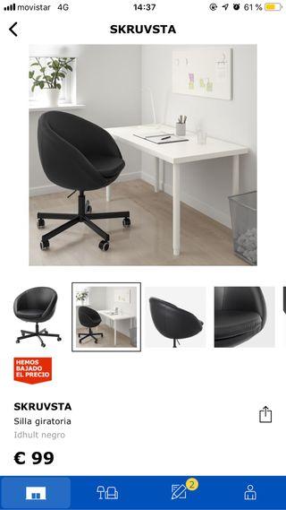 Wallapop Segunda Ikea Silla De Por € Mano En Skruvsta Móstoles 60 rsCxthQBd
