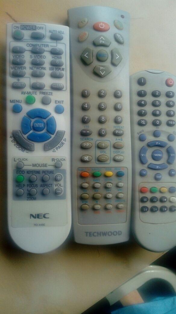 vendo 3 mandos