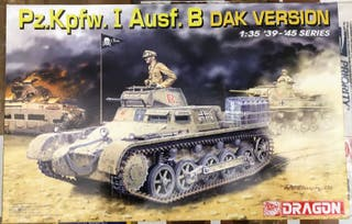 Maqueta DRAGON escala 1/35 - Pz.Kpfw. I Ausf. B DA