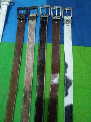 cinturones cuero nuevos
