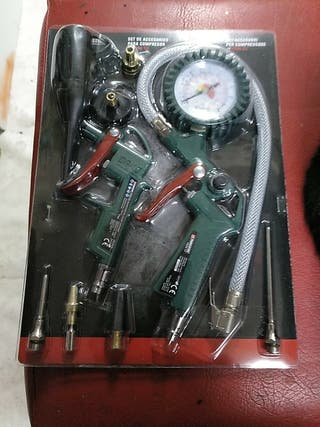 set de accesorios para compresor