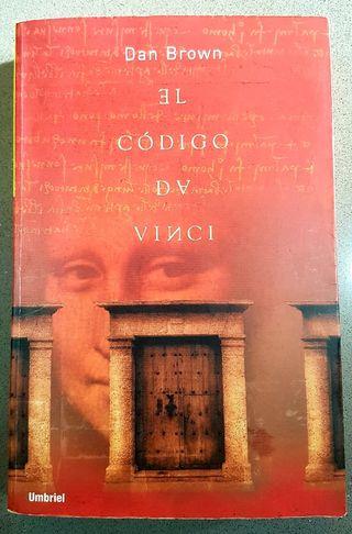 LIBRO EL CÓDIGO DA VINCI de Dan Brow, 1a. EDICIÓN