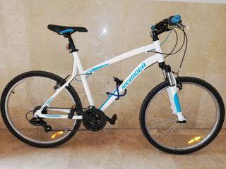Bicicleta btwin ROCKRIDER RR 5.1 con muchas extras