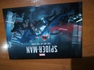 libro de arte videojuego Spiderman