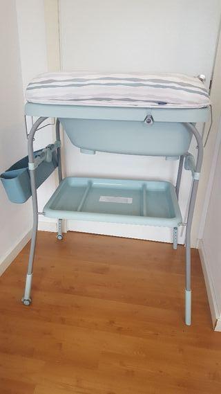 Cambiador / bañera para bebé