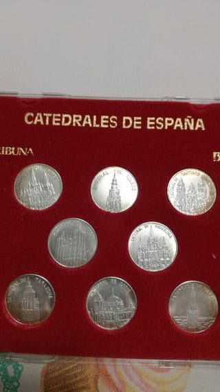 Monedas catedrales España