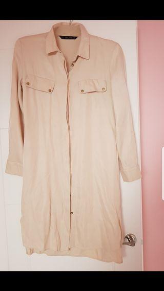 vestido camiseros de Zara